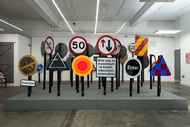 British Road Signs at Humber Street Gallery